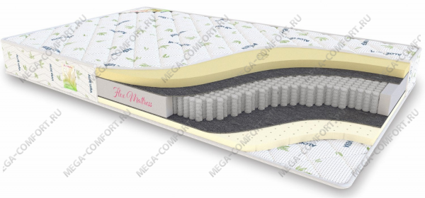 Матрас Flex Mattress Multipocket Mix Soft Comfort