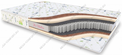 Матрас Flex Mattress Multipocket Midl Mix
